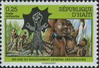 [The 200th Anniversary of Uprising of Slaves, type UM]