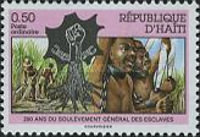 [The 200th Anniversary of Uprising of Slaves, type UM1]