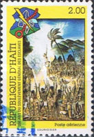 [Airmail - The 200th Anniversary of Uprising of Slaves, type UN1]