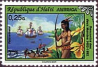 [America - The 500th Anniversary of Discovery of America by Columbus 1992, type UO]