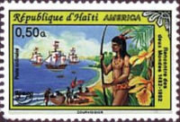 [America - The 500th Anniversary of Discovery of America by Columbus 1992, type UO1]