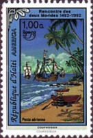 [Airmail - America - The 500th Anniversary of Discovery of America by Columbus 1992, type UP]