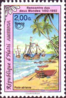 [Airmail - America - The 500th Anniversary of Discovery of America by Columbus 1992, Typ UP1]