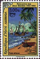 [Airmail - America - The 500th Anniversary of Discovery of America by Columbus 1992, type UP2]