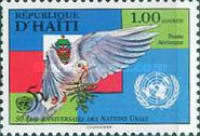 [Airmail - The 50th Anniversary of the United Nations, type UT]