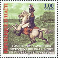 [The 200th Anniversary of the Death of Toussaint L'Ouverture, 1743-1803, type YF]