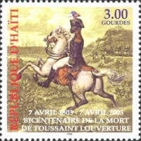 [The 200th Anniversary of the Death of Toussaint L'Ouverture, 1743-1803, type YF2]