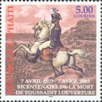 [The 200th Anniversary of the Death of Toussaint L'Ouverture, 1743-1803, type YF3]