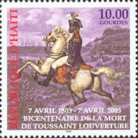 [The 200th Anniversary of the Death of Toussaint L'Ouverture, 1743-1803, type YF5]