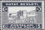 [Postage Due Stamps, Typ B3]