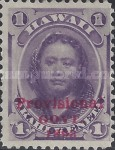 [Previous Issued Stamps Overprinted