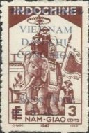 [Charity Stamps - Indochina Stamps Overprinted and Surcharged, Typ AA]