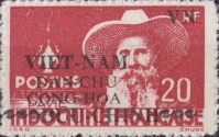 [Independence - Indochina Postage Stamps Overprinted, Typ G2]