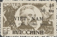 [Indochina Stamps Overprinted and Surcharged, Typ O]