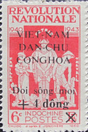 [Charity Stamps - Indochina Stamps Overprinted and Surcharged, Typ Z]