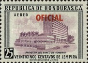 [Airmail - Local Motives - Honduras Postage Stamps of 1956 in New Colors and Overprinted