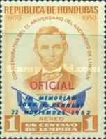 [Airmail - Official Stamps of 1959 Overprinted