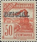 [Locomotives - Honduras Postage Stamps of 1898 Overprinted