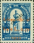 [Airmail - Francisco Morazan Monument - No. 70-75 Surcharged, Typ U11]