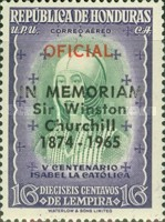 [Airmail - Official Stamp of 1952 Overprinted