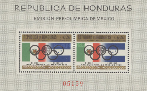 [Airmail - Olympic Games - Mexico City, Mexico, Typ ]
