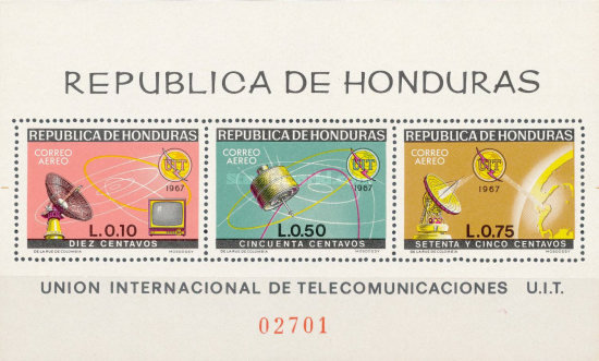[Airmail - The 100th Anniversary International Telecommunications Union, Typ ]