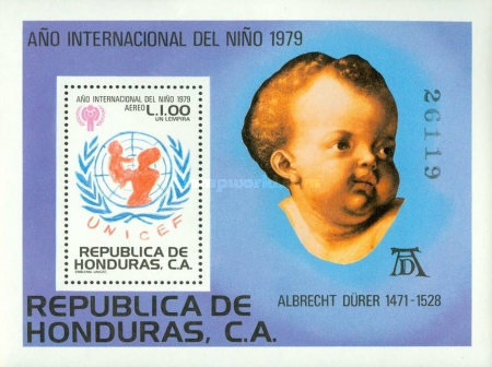 [Airmail - International Year of the Child, type ]