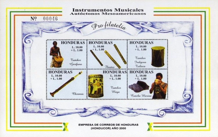 [Airmail - Musical Instruments, Typ ]