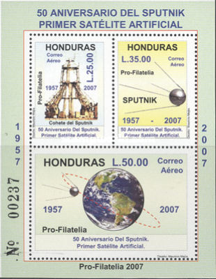[Airmail - The 50th Anniversary of Space Travel, type ]