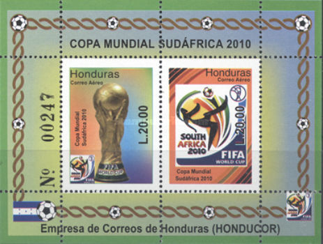 [Airmail - Football World Cup - South Africa, type ]