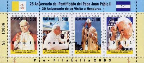 [Beatification of Pope John Paul II, 1920-2005, type ]