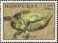 [Airmail - Reptiles, Typ ACN]