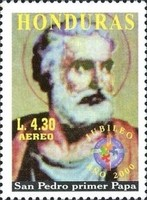 [Airmail - Holy Year 2000, type AFN1]