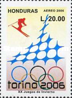 [Airmail - Olympic Games - Turin, Italy, Typ AQD]
