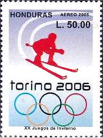 [Airmail - Olympic Games - Turin, Italy, Typ AQE]