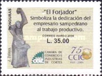 [Airmail - The 75th Anniversary of Chamber of Commerce and Industry of Cortes, Typ AQJ]