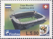 [Airmail - Football World Cup - South Africa, type ASU]