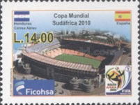 [Airmail - Football World Cup - South Africa, type ASV]