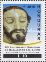 [Airmail - The 80th Anniversary of the Knights of the Holy Burial of Tegucigalpa Society, Typ AWF]