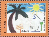 [The 50th Anniversary of the SOS Children's Village in Honduras, type AZI]