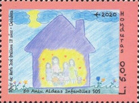 [The 50th Anniversary of the SOS Children's Village in Honduras, type AZJ]