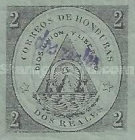[No. 1 & 2 Surcharged - Comayagua Issue, with Frame, type B3]