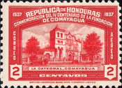 [Airmail - The 400th Anniversary of Comayagua, type BM]
