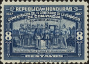 [Airmail - The 400th Anniversary of Comayagua, type BN]