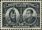 [Airmail - The 400th Anniversary of Comayagua, type BO]