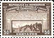 [Airmail - The 400th Anniversary of Comayagua, type BP]