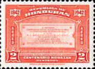 [Airmail - The 100th Anniversary of the Death of General Francisco Morazan, type CK]