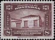 [Airmail - The 100th Anniversary of the Death of General Francisco Morazan, type CM]