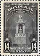 [Airmail - The 100th Anniversary of the Death of General Francisco Morazan, type CN]