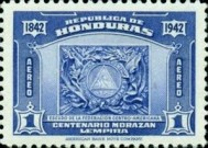 [Airmail - The 100th Anniversary of the Death of General Francisco Morazan, type CQ]